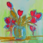 nt red tulips abstract painting paypal