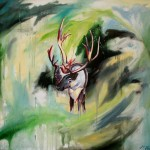 04_Katerina Pravdivaia_Endangered Woodland Caribou_Oil on Canvas_36x42.jpg