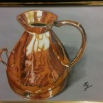 Brass Ewer by Mic