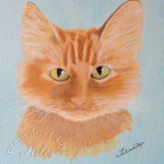Painted By Jules - GINGER CAT